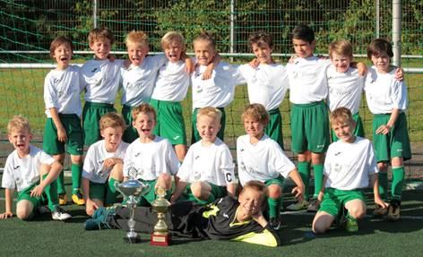 F2 erreicht einen sehr guten 3. Platz beim Volksbank Cup des TSV Victoria Clarholz